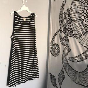Striped, tank dress.